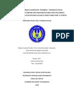 Proposal Ptk - Ppg Prajab
