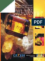 Programacao Trienal 2003 2005