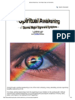 Spiritual Awakening - Some Major Signs and Symptoms