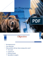 7-Investment Processes and Portfolio Selection