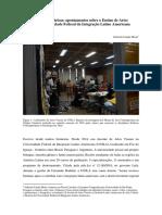 Navegar entre fronteiras apontamentos sobre o Ensino de Artes Visuais na Universidade Federal da Integração Latino Americana 2.pdf