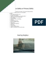 Automotive safety Unit - II.pdf
