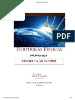 Teologia da Consulta Ao Senhor