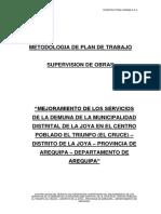 Metodologia Propuesta Supervision La Joya