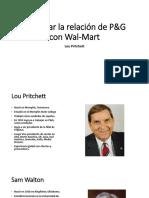 Negociar La Relación de P&G Con Wal-Mart