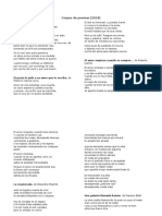 Corpus de Poemas. El Amor