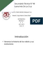 Linea Del Tiempo Robot
