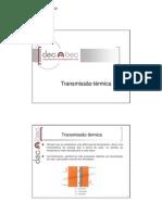 Transmissão térmica_Conforto térmico
