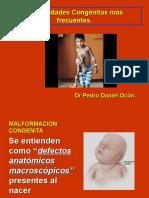 enfermedades congénitas osteomuscular