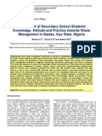 Assessment of Secondary School Students