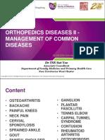 BCME2206 Week 7b Orthopedics diseases II - management of common diseases 20190221 Tse Sut Yee2.pdf
