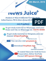 News Juice 9th March 2019