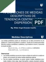 TEMA 9 Aplicaciones de Medidas Descriptivas de Tendencia Central y de Dispersión