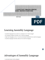 Assembly Language Programming Building Microcomputer
