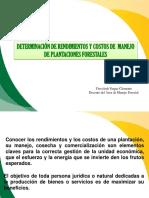 Rendimientos y Costos de Manejo de Plantaciones ForestalES II-2014 (1)