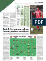 La Provincia Di Cremona 10-03-2019 - Serie B