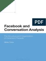 Facebook and Conversation Analysis