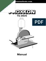 proxxon TG 250/E