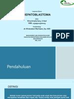 Ppt Lapsus hepatoblastoma