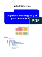 OBJETIVOS, ESTRATEGIAS Y EL PLAN DE MARKETING