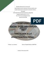 La transformacion social