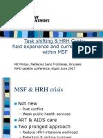 Kigali Task Shifting MSF
