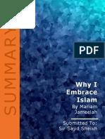 Why I Embrace Islam