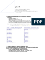Ejercicios Python 2