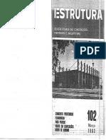 Revista Técnica de Construções Estrutura Prof. Aderson 102