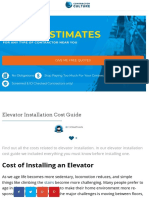 Elevator Installation Cost Guide, Specs & Instructions ⎮ ContractorCulture