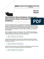 12 Aftertreatment Diesel Oxidation Catalyst and Aftertreatment Diesel Particulate Filter Reuse Guidelines