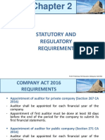 Chapter 2 - Statutory and Regulatory Requirement