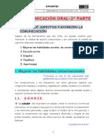 Apuntes Comunicación Oral CEAC-2019 - 2ª Parte