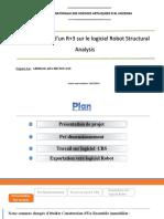 EXPO Modélisation d'un R+3 sur le logiciel Robot Structural Analysis