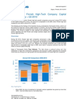 Technopolis Online Report - Finnish Venture Capital Market in Q3 2010