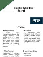 Neoplasma Trakea  & Bronkus