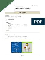 web coding basics