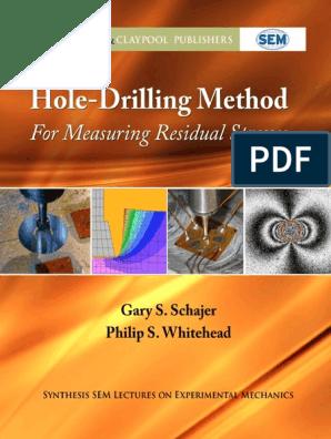 Hole Drilling Method for Measuring Residual Stresses v1 pdf