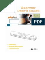 cara penggunaan scanner plustek