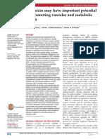 Capsaicin Vascular Health Mccarthy 2015