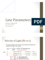 MD 02 Line Parameters