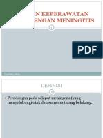 Asuhan Keperawatan Klien Dengan Meningitis