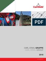 Carl Stahl Company Profile 2018_Konzern_DE_EN