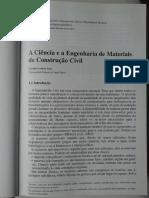 01 - A Ciência e a Engenharia de Materiais de Construção Civil