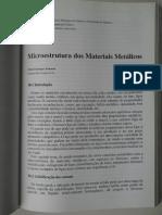10 - Microestrutura Dos Materiais Metálicos