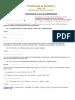 Emenda Constitucional 29 de 13 de Set 2003