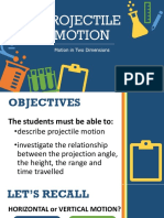 DLP Projectile Motion
