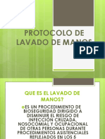 Protocolo de Lavado de Manos
