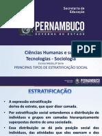 Principais Tipos de Estratificação Social