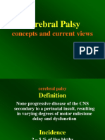 Cerebral Palsy - Concepts and Current Views
